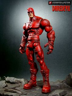 Daredevil (Stylized) custom action figure from the Marvel Legends series using Mls as the base, created by loosecollector. Star Wars Poster, Star Wars Art, Star Trek, Character Modeling, Comic Character, Marvel Heroes, Marvel Comics, Marvel Legends Series, Custom Action Figures
