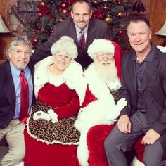 Pictures with Santa at LCFCC // La Canada Flintridge Country Club