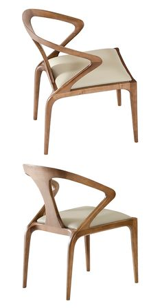 Working from a totally modern perspective, the Zen Argosy Dining Chair hits the trifecta of interior furnishing appeal: comfort, class, and timelessness. Its sleek, sculpted frame offers an artistic br...  Find the Zen Argosy Dining Chair, as seen in the On the Modern Side of Mid-Century Collection at http://dotandbo.com/collections/on-the-modern-side-of-mid-century?utm_source=pinterest&utm_medium=organic&db_sku=117127