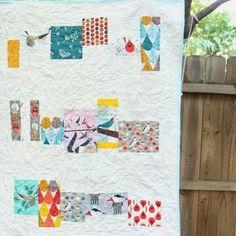 Tutorial: Charley Harper Baby Quilt  Get this Fabric! Nurture by Charley Harper   http://birchfabrics.blogspot.com/2014/11/tutorial-nurture-quilt-by-plum-and-june.html