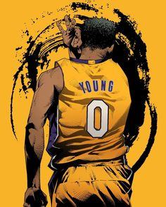 Nick Young From Downtown Illustration
