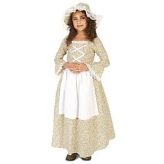 Colonial Times Girl Child Costume L (12-14)