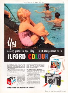 1958 Ilford Colour Film (click picture for more details) #ilfordfilm #shootfilm #snaloguephotography