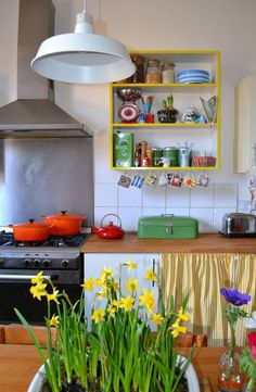 Sophie & Nick's Colorful Victorian Townhouse