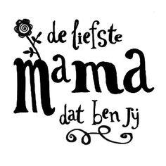 Moederdag !! Luxe brander met tekst De liefste mama.... . Inclusief 10 Smellies