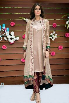 New dresses 2017 pakistani, pakistani outfits, indian dresses, pakistani cl Shrug For Dresses, Eid Dresses, Indian Dresses, Casual Dresses, Fashion Dresses, Formal Dresses, Shadi Dresses, Frock Fashion, Dresses 2016