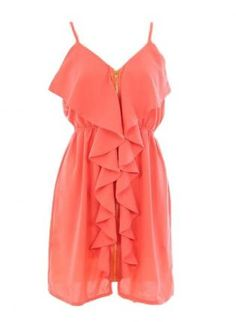 Love!!!! Peach Dress #womendress #alice257891 #PeachDress #Peach #Dresses #nicefashion   www.2dayslook.com