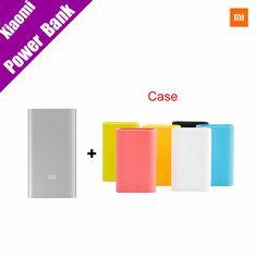 Original Xiaomi Power Bank 5000mAh Mi Portable Charger Slim Powerbank 5000 for Xiaomi Mobile Phones with Silicone Case <3 Haga clic en la VISITA botón para ver los detalles