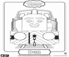 Thomas & Friends: The Great Race Colouring Pages | Kids ...