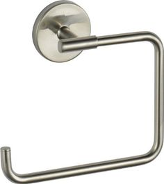 Delta Faucet 759460-SS Trinsic, Towel Ring, Stainless