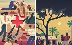 Cyrus Ebola Crisis Response - Owen Davey Illustration