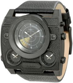 Diesel Mens Watch with mock sonar scan Cheap Watches, Cool Watches, Watches For Men, Wrist Watches, Diesel Watch, Hand Watch, Fine Men, Black Models, Glass Necklace