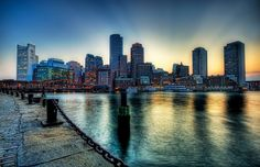 Charles River in Boston - such a cool picture. Running along the charles is my favorite work out...so relaxing