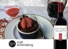 This rich chocolate cake pairs well with our En Primeur Winery Series Amarone Classico. #winepairing