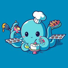 I <3 Baking T-Shirt TeeTurtle