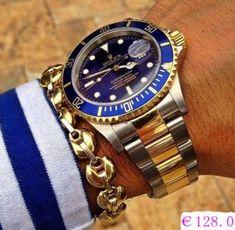 Réplique Rolex Submariner montre 116613LB-97203 au prix le plus bas
