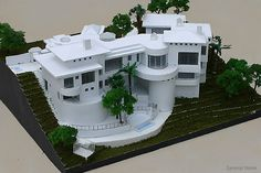 Scale Home Model Image - Birdeye View