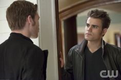 """Before Sunset"" - Pictured (L-R): Joseph Morgan as Klaus and Paul Wesley as Stefan in THE VAMPIRE DIARIES on The CW. Photo: Annette Brown/The CW ©2012 The CW Network. All Rights Reserved."