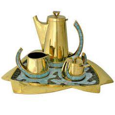 Salvador Teran Modernist Tea Service