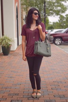 A Casual Outfit - Classical Trendsetter Blog