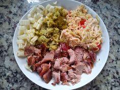 Eu que fiz!: Almoço #paleo  #lowcarb  #comidasaudavel  #lchf  #euquefiz