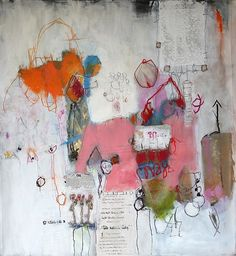 Native of France Nadine Bourgne painter was born to Issoire in 1967. At the end of the 90s she marries her passion of the expression abstracted from her paintings (supports papers, paintings (clothes)) in her teacher's profession. In 2007 she decides to dedicate itself completely to this art living henceforth in La Rochelle.