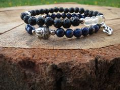 Check out this item in my Etsy shop https://www.etsy.com/listing/234962660/mens-mala-bracelet-lapis-lazuli-citrine