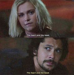 """#The100 5x05 """"Shifting Sands"""""""