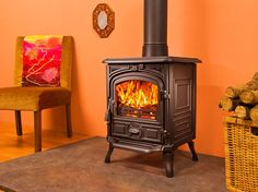 The Belfort multifuel stove - The Franco Belge Belfort