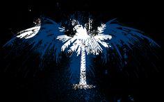 Desktop Wallpaper - eagles hawk flags usa south carolina state ...