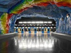 Stockholm tunnelbana Stadion