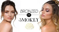 ⬅️ LEFT OR RIGHT ➡️ What's your style? Toned down and Bronzed or a plummed up Smokey?? • • • Book your appointment online at www.atikbeauty.com.au What's Your Style, Bronze, Studio, Makeup, Instagram Posts, Books, Beauty, Maquiagem, Livros