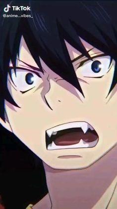 Ao No Exorcist, Blue Exorcist Funny, Blue Exorcist Anime, Yandere Anime, Haikyuu Anime, Anime Chibi, Rin Okumura, Cool Anime Guys, Hot Anime Boy