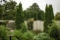 Ms. Garten's kitchen garden in East Hampton
