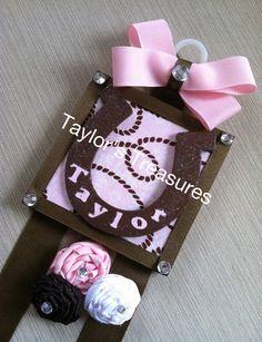 Taylors Treasures   Cowgirl Horse Shoe Hair by taylorstreasuresinc, $12.99