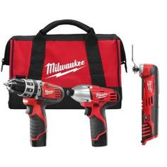 milliwaukee hammer drill/driver impact combo with free multi tool on the home depot website