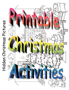 Printable Christmas themed activities for coloring pages, color by number, dot to dots, cut and paste, hidden pictures, counting, matching, mazes, picture Sudoku, word search, and word scramble a Merry Christmas. Printable Christmas Activities is licensed under a Creative Commons Attribution-NonCommercial-ShareAlike 3.0 Unported License.