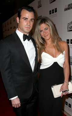 Jennifer Aniston & Justin Theroux from Celeb Couples in Love! | E! Online