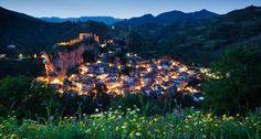 Palizzi Superiore in the Province of Reggio Calabria, Italy