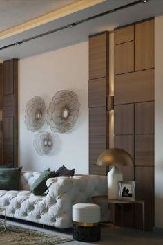Decor Home Living Room, Interior Design Living Room, Living Room Designs, Modern Interior Design, Luxury Interior, Wall Decor Design, Home Goods Decor, Home Room Design, Bathroom Design Small