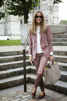 Olivia Palermo Snapshots business workwear corporate effortless love her style Tyla Lala