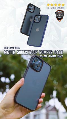 Matte Shockproof Bumber Case