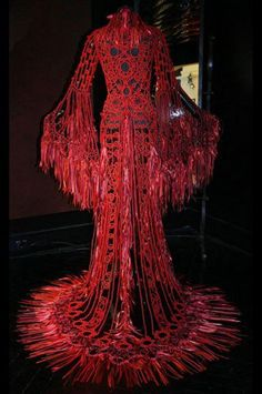 A gown for Kali Ma