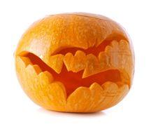 Halloween Deko Ideen aus Kürbissen selber machen -