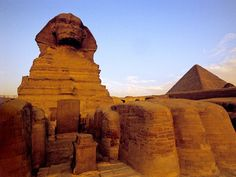 Epypt...The Pyramids. This is definitely a place I have to visit...not just the one in Vegas, lol.