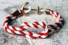 nautical bracelet action.