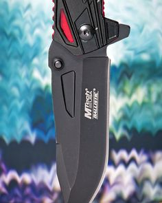 #MTECH #USA #BALLISTIC #BLACK #BLADE #SPRING #ASSISTED #KNIFE with #RED #LINER. #one of the #best #items for #sale. #weaponsfanatics #igmilitia #knivesofinstagram #knifenut #bladeporn #stainless #steel #stainlessteel #edc #musthaveit #gogetit at : - http://www.cutlerywholesaler.com/mtech-usa-ballistic-black-blade-spring-assisted-knife-red-liner.aspx