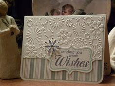 Sending you warm wishes card by Geri