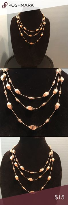 Gold toned necklace 19inches with 3 inch extender Worthington Jewelry Necklaces