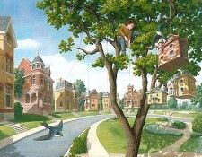 Fine art editon titled For the Birds by Rob Gonsalves